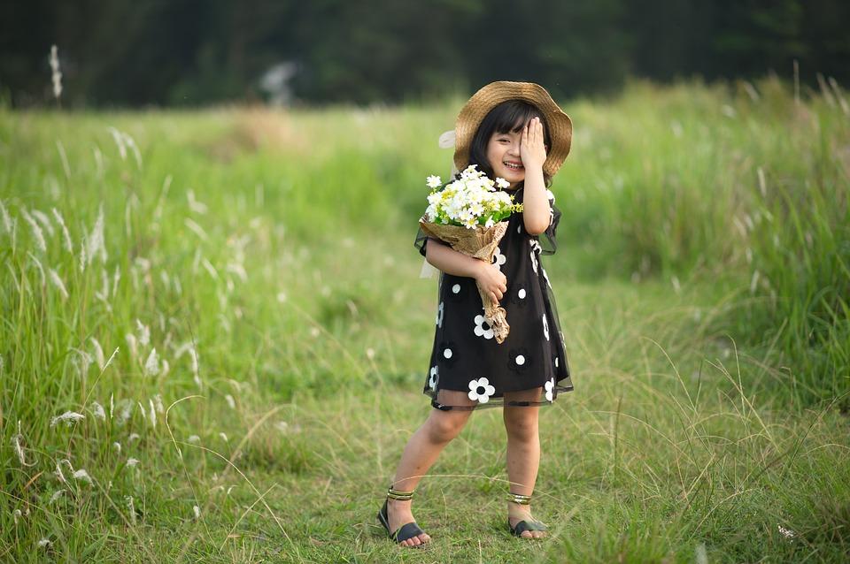 Que dire des imprimés fleuris pour enfants?